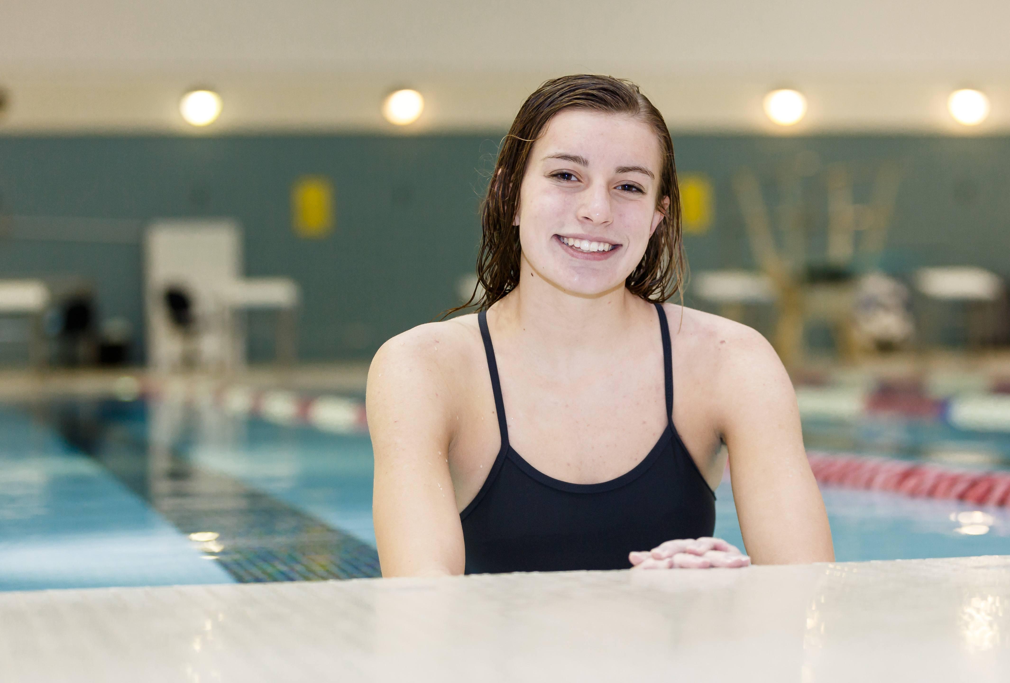 east swimmer leah westcott reaching her goals preps pros photo by alan herzberg sportsphotos llc